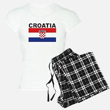 Croatia Flag Pajamas