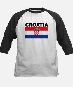 Croatia Flag Baseball Jersey