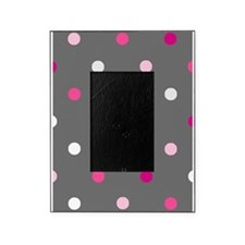 'Gray Dotty' Picture Frame