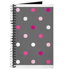 'Gray Dotty' Journal