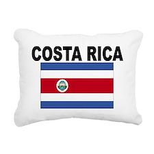 Costa Rica Flag Rectangular Canvas Pillow
