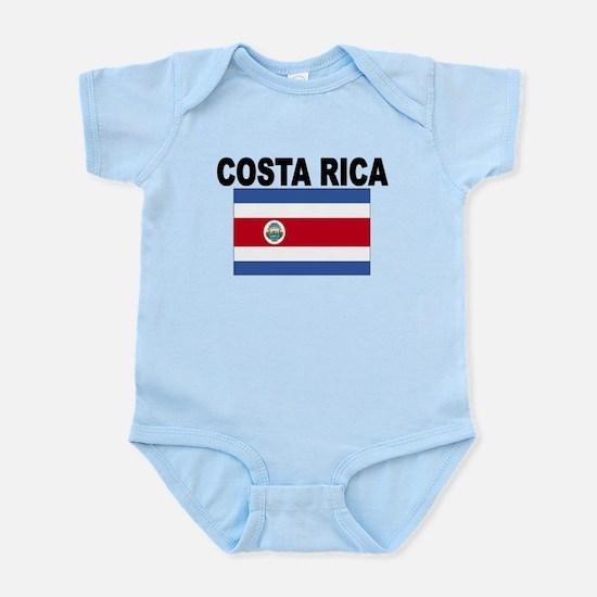 Costa Rica Flag Body Suit