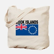 Cook Islands Flag Tote Bag