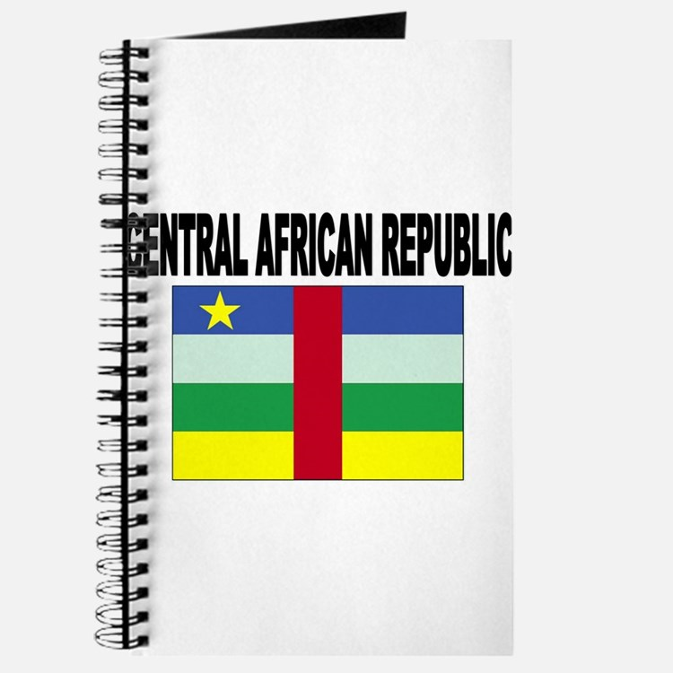 Central African Republic Flag Journal