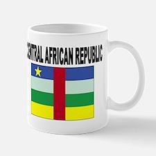 Central African Republic Flag Mug