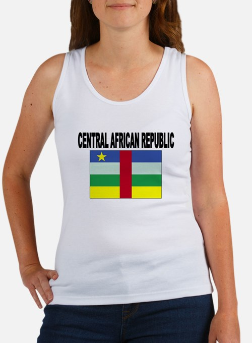 Central African Republic Flag Tank Top