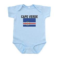 Cape Verde Flag Body Suit