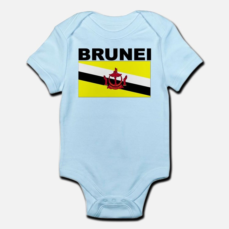Brunei Flag Body Suit