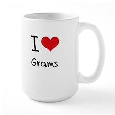 I Love Grams Mug