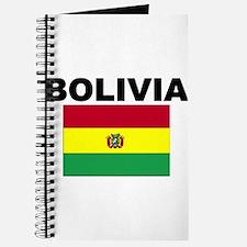 Bolivia Flag Journal