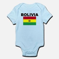Bolivia Flag Body Suit