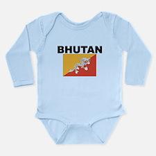 Bhutan Flag Body Suit