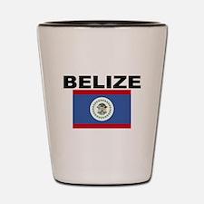 Belize Flag Shot Glass
