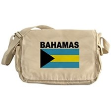 Bahamas Flag Messenger Bag