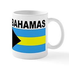 Bahamas Flag Small Mug