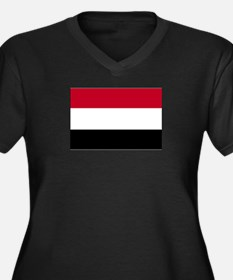 Yemen Flag Plus Size T-Shirt