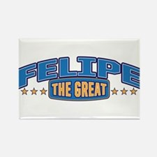 The Great Felipe Rectangle Magnet