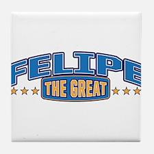 The Great Felipe Tile Coaster