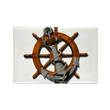 Nautical Anchor Rectangle Magnet (10 pack)