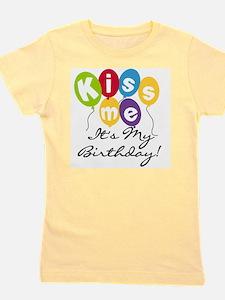 KISSMEBDAYTEE.png Girl's Tee
