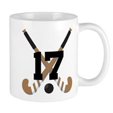 Field Hockey Number 17 Mug
