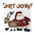 getjollytees.png Woven Throw Pillow
