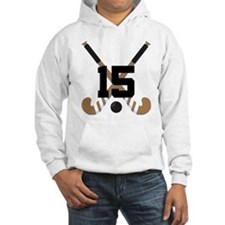 Field Hockey Number 15 Hoodie