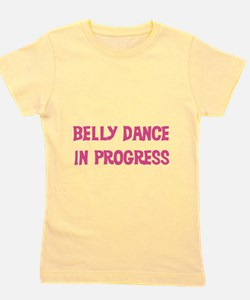 pinkbellydance.png Girl's Tee