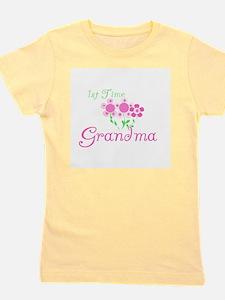 1sttimegrandmaaa.png Girl's Tee