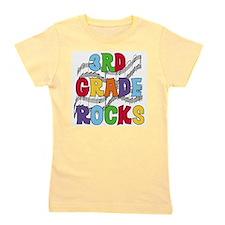 3rd Grade Rocks.png Girl's Tee