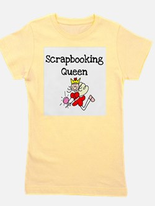 scrapbookqueenstick.png Girl's Tee