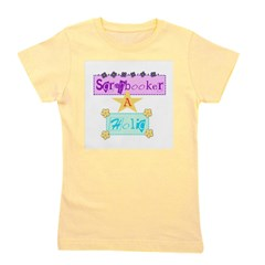 SCRAPHOLICCENTERED.png Girl's Tee