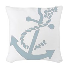 nauticaltransparent.png Woven Throw Pillow