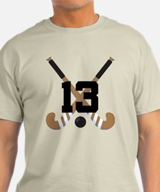 Field Hockey Number 13 T-Shirt