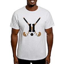 Field Hockey Number 11 T-Shirt