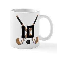 Field Hockey Number 10 Mug