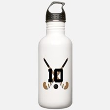 Field Hockey Number 10 Water Bottle
