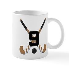 Field Hockey Number 9 Mug