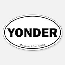 Yonder Decal