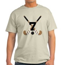 Field Hockey Number 7 T-Shirt