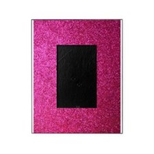 Hot pink faux glitter Picture Frame
