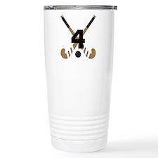 Field Hockey Number 4 Travel Mug