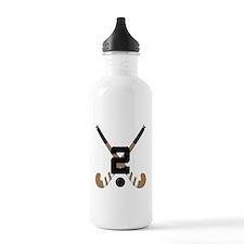 Field Hockey Number 2 Water Bottle