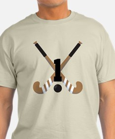 Field Hockey Number 1 T-Shirt