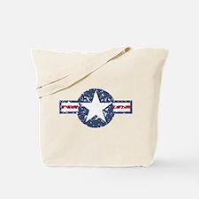 Faded Air Force Logo Tote Bag