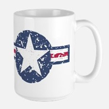 Faded Air Force Logo Mug
