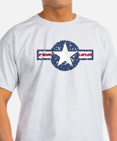 Faded Air Force Logo T-Shirt