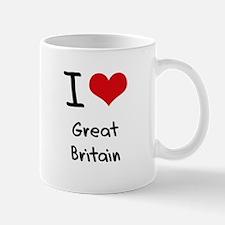 I Love Great Britain Mug