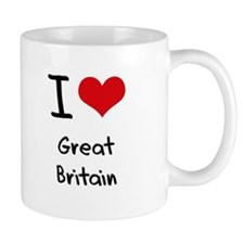 I Love Great Britain Mug