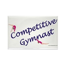 Competitive Gymnast Rectangle Magnet (10 pack)